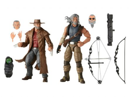 Hasbro Marvel Legends Old Man Logan & Old Man Hawkeye Action Figure 2-Pack